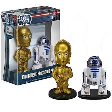 C-3PO and R2-D2 bobble head