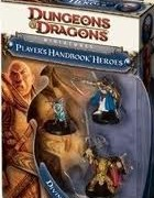 Dungeons and Dragons 4ed Divine Heroes miniatures