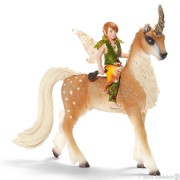 Schleich Elf on forest unicorn