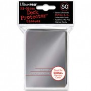 Silver Small Deck Sleeves Ultra Pro