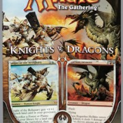 MTG Duel Deck Knights vs Dragons